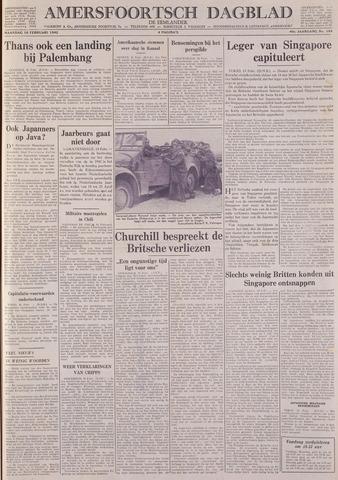 Amersfoortsch Dagblad / De Eemlander 1942-02-16