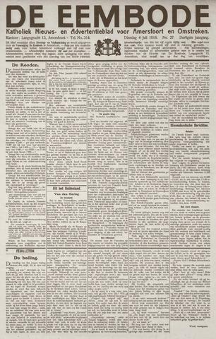 De Eembode 1916-07-04