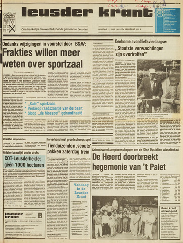 Leusder Krant 1985-06-11