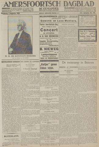 Amersfoortsch Dagblad / De Eemlander 1928-08-02