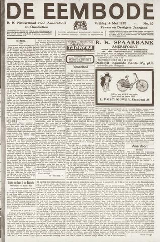 De Eembode 1923-05-04