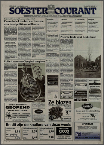 Soester Courant 2000-11-01