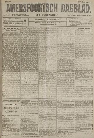Amersfoortsch Dagblad / De Eemlander 1917-02-28