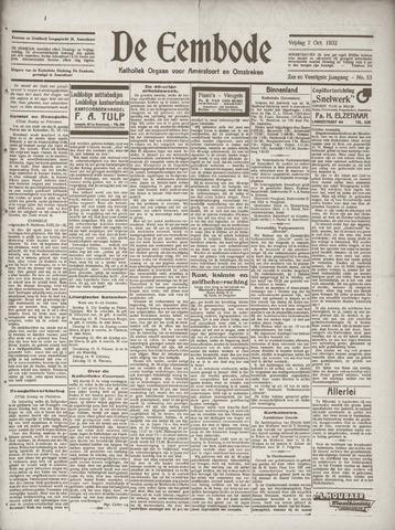 De Eembode 1932-10-07