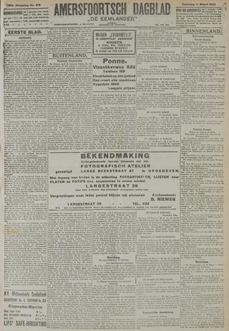 Amersfoortsch Dagblad / De Eemlander 1922-03-11