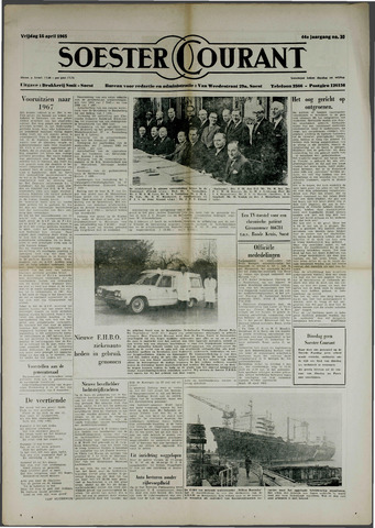 Soester Courant 1965-04-16