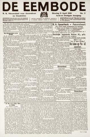 De Eembode 1924-04-08
