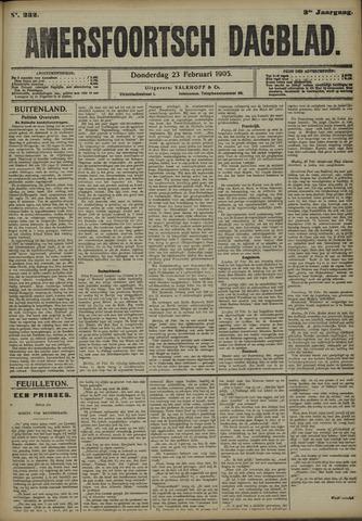 Amersfoortsch Dagblad 1905-02-23