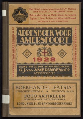 Adresboeken Amersfoort 1928