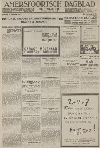 Amersfoortsch Dagblad / De Eemlander 1929-12-28