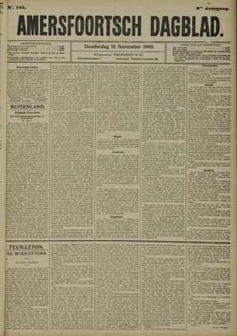 Amersfoortsch Dagblad 1909-11-18