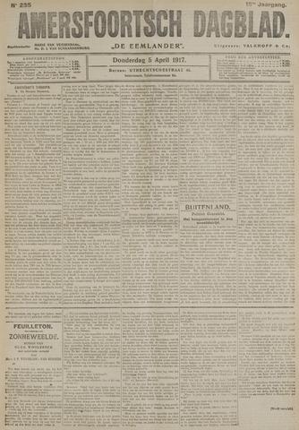 Amersfoortsch Dagblad / De Eemlander 1917-04-05
