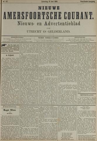 Nieuwe Amersfoortsche Courant 1885-06-13