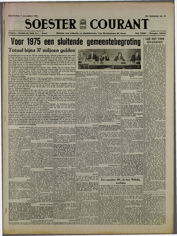Soester Courant 1974-11-07