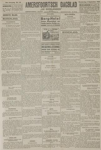 Amersfoortsch Dagblad / De Eemlander 1925-09-03