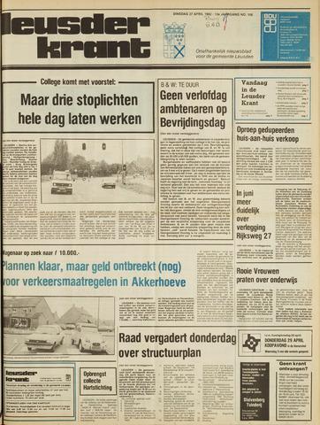 Leusder Krant 1982-04-27