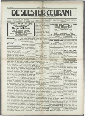 Soester Courant 1933-10-13