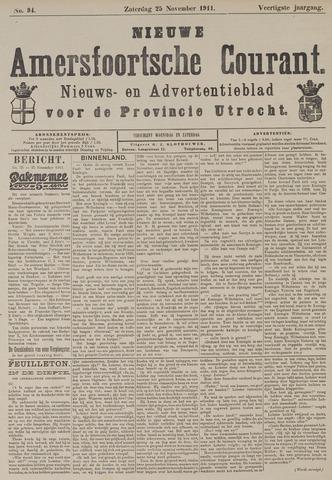 Nieuwe Amersfoortsche Courant 1911-11-25