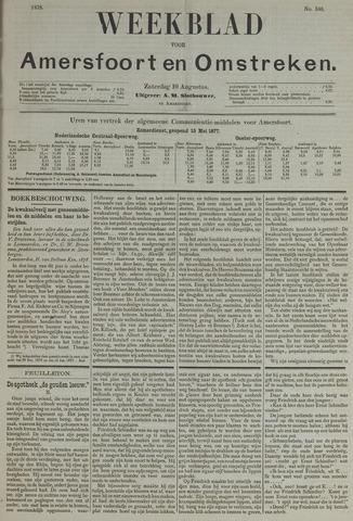Weekblad voor Amersfoort en Omstreken 1878-08-10