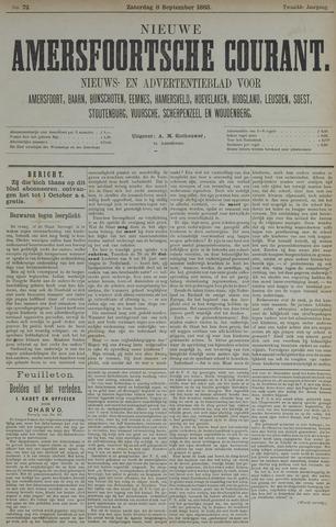 Nieuwe Amersfoortsche Courant 1883-09-08