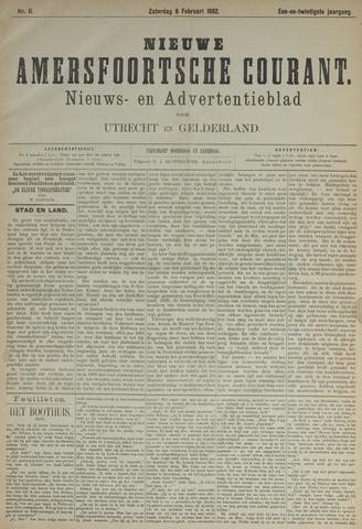 Nieuwe Amersfoortsche Courant 1892-02-06