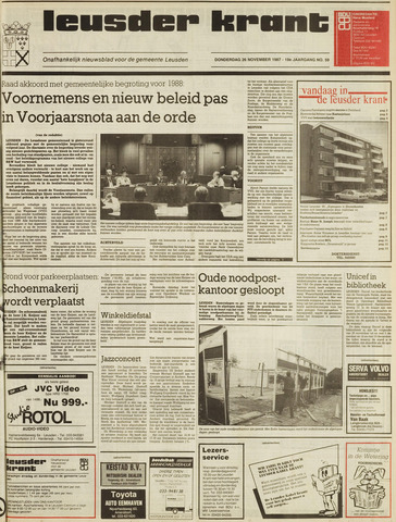 Leusder Krant 1987-11-26