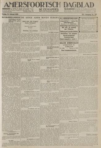 Amersfoortsch Dagblad / De Eemlander 1929-02-15