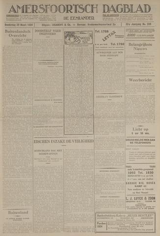 Amersfoortsch Dagblad / De Eemlander 1934-03-29