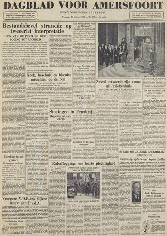 Dagblad voor Amersfoort 1947-10-15