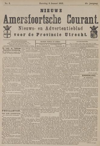 Nieuwe Amersfoortsche Courant 1912-01-06