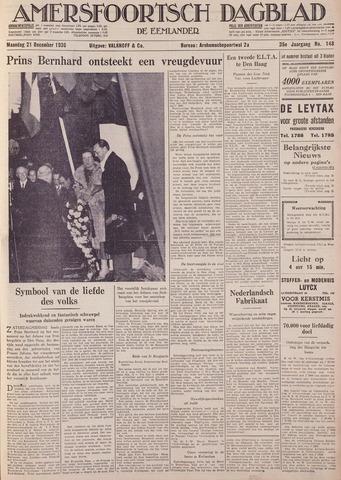Amersfoortsch Dagblad / De Eemlander 1936-12-21