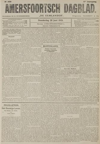 Amersfoortsch Dagblad / De Eemlander 1913-06-26