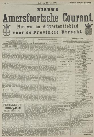 Nieuwe Amersfoortsche Courant 1909-06-26