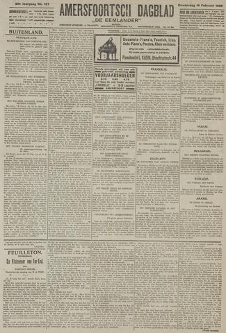 Amersfoortsch Dagblad / De Eemlander 1925-02-19