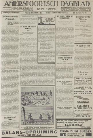 Amersfoortsch Dagblad / De Eemlander 1932-01-16