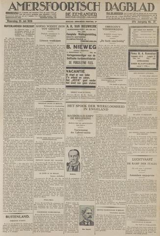 Amersfoortsch Dagblad / De Eemlander 1928-07-25