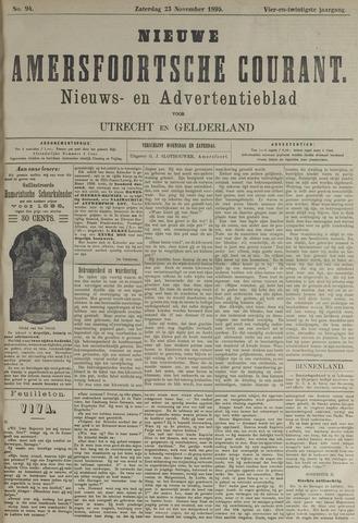 Nieuwe Amersfoortsche Courant 1895-11-23