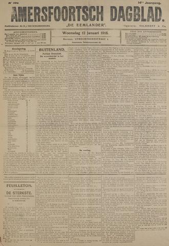 Amersfoortsch Dagblad / De Eemlander 1916-01-12