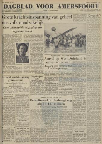 Dagblad voor Amersfoort 1950-09-19