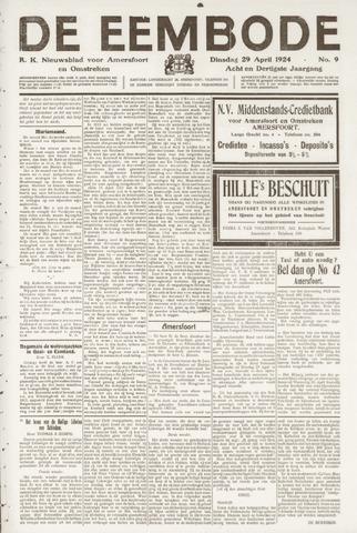 De Eembode 1924-04-29