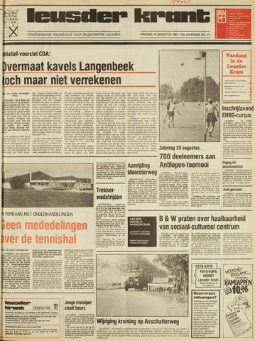 Leusder Krant 1983-08-16