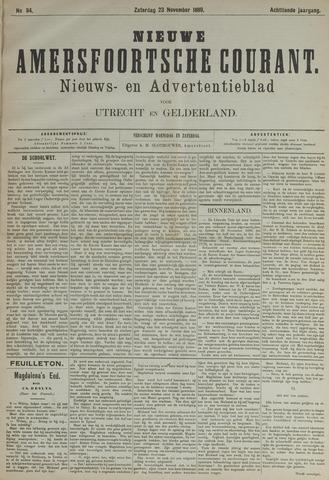 Nieuwe Amersfoortsche Courant 1889-11-23