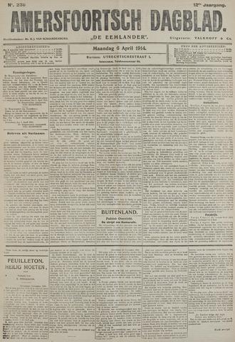Amersfoortsch Dagblad / De Eemlander 1914-04-06