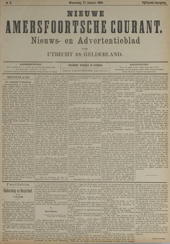 Nieuwe Amersfoortsche Courant 1886-01-27
