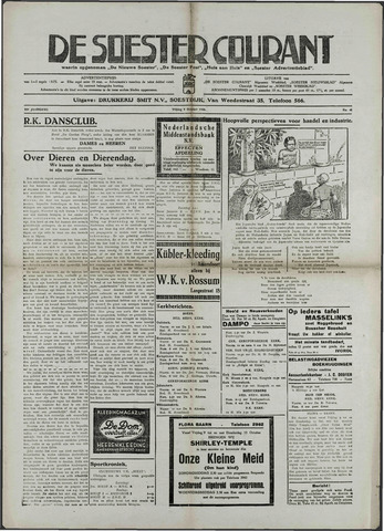 Soester Courant 1936-10-09