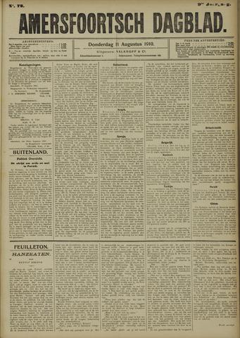 Amersfoortsch Dagblad 1910-08-11