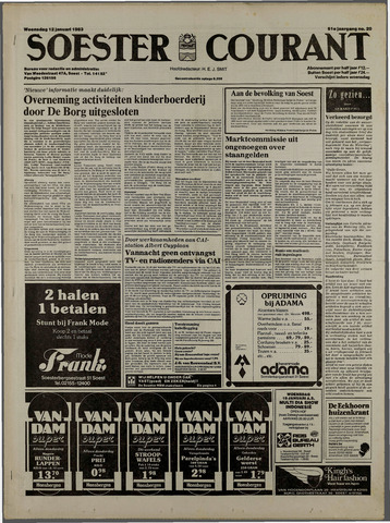 Soester Courant 1983-01-12
