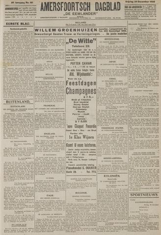 Amersfoortsch Dagblad / De Eemlander 1926-12-24