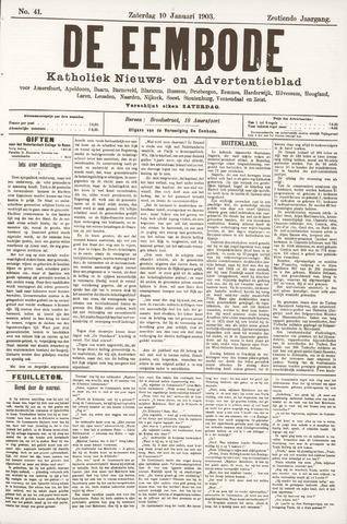 De Eembode 1903-01-10