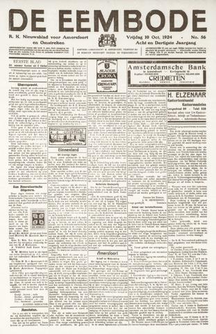De Eembode 1924-10-10